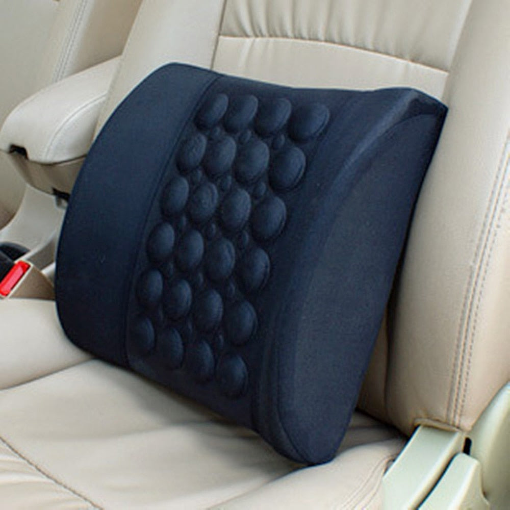 Electric Health Care Lumbar Cushion Pad For Car Office Seat