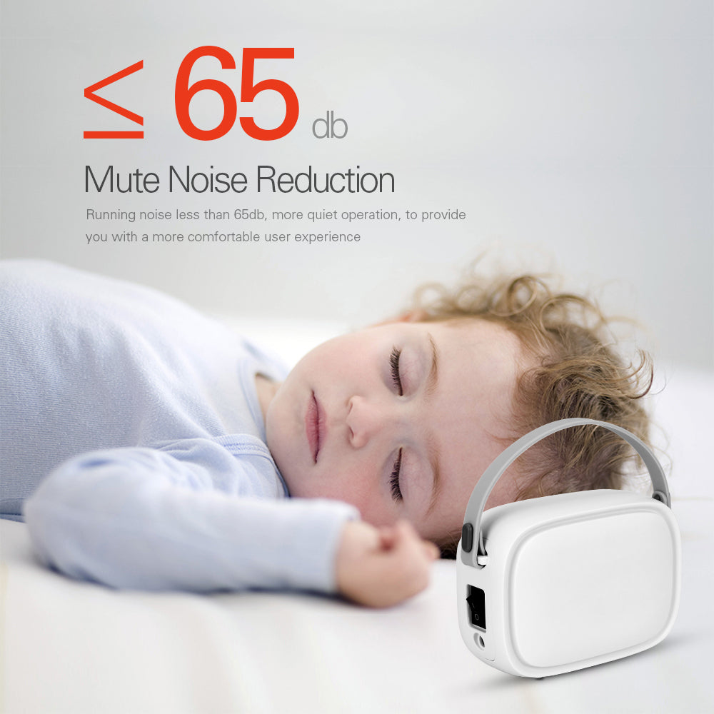 Portable Compressor Nebulizer Medication Mini Handheld Steaming Device for Child