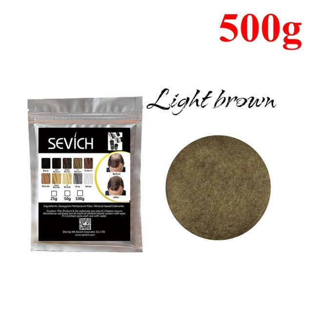 500g Hair Building Fiber Refill Anti Hair Loss Product