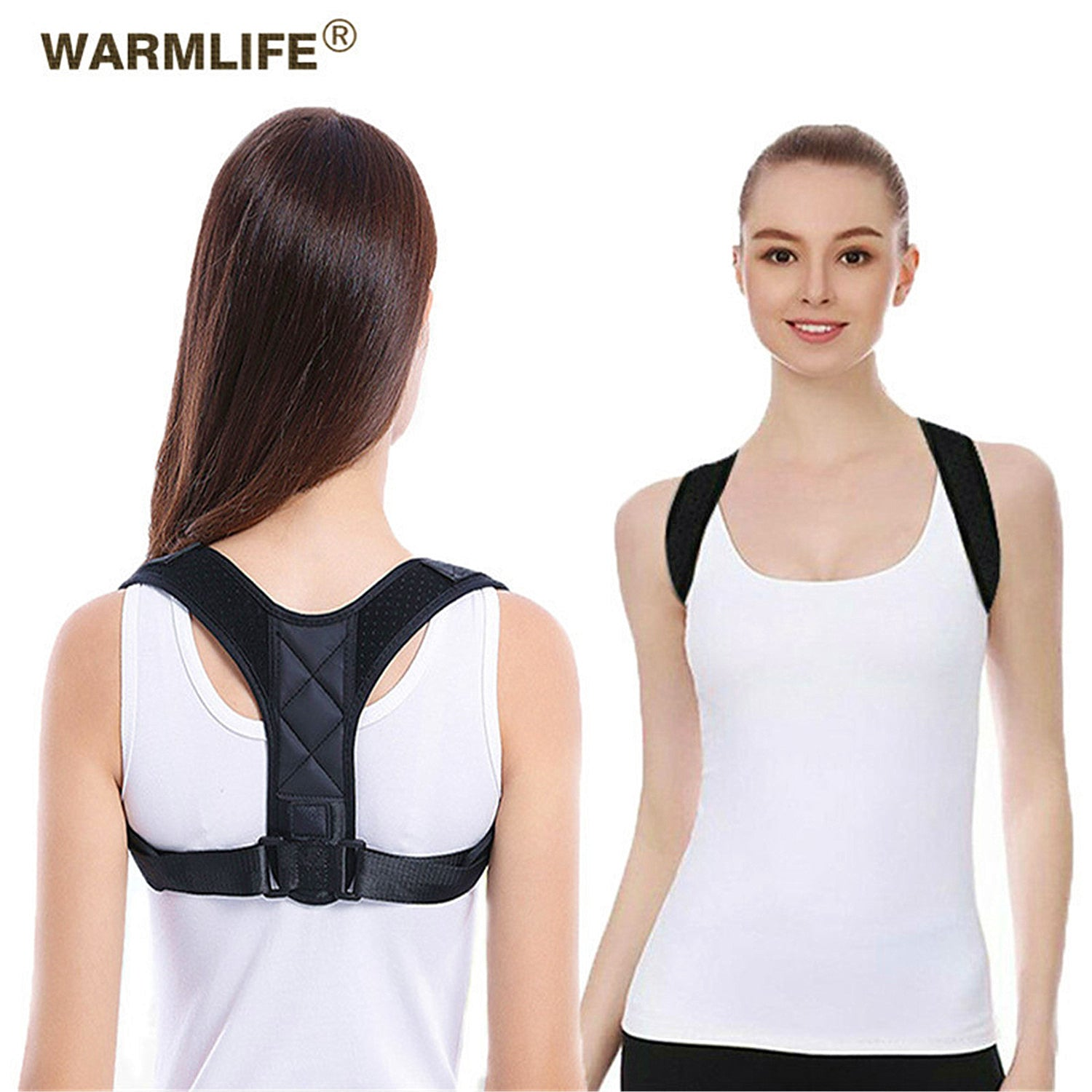 Hot Sale Adjustable Non Woven Back Posture Corrector Belt