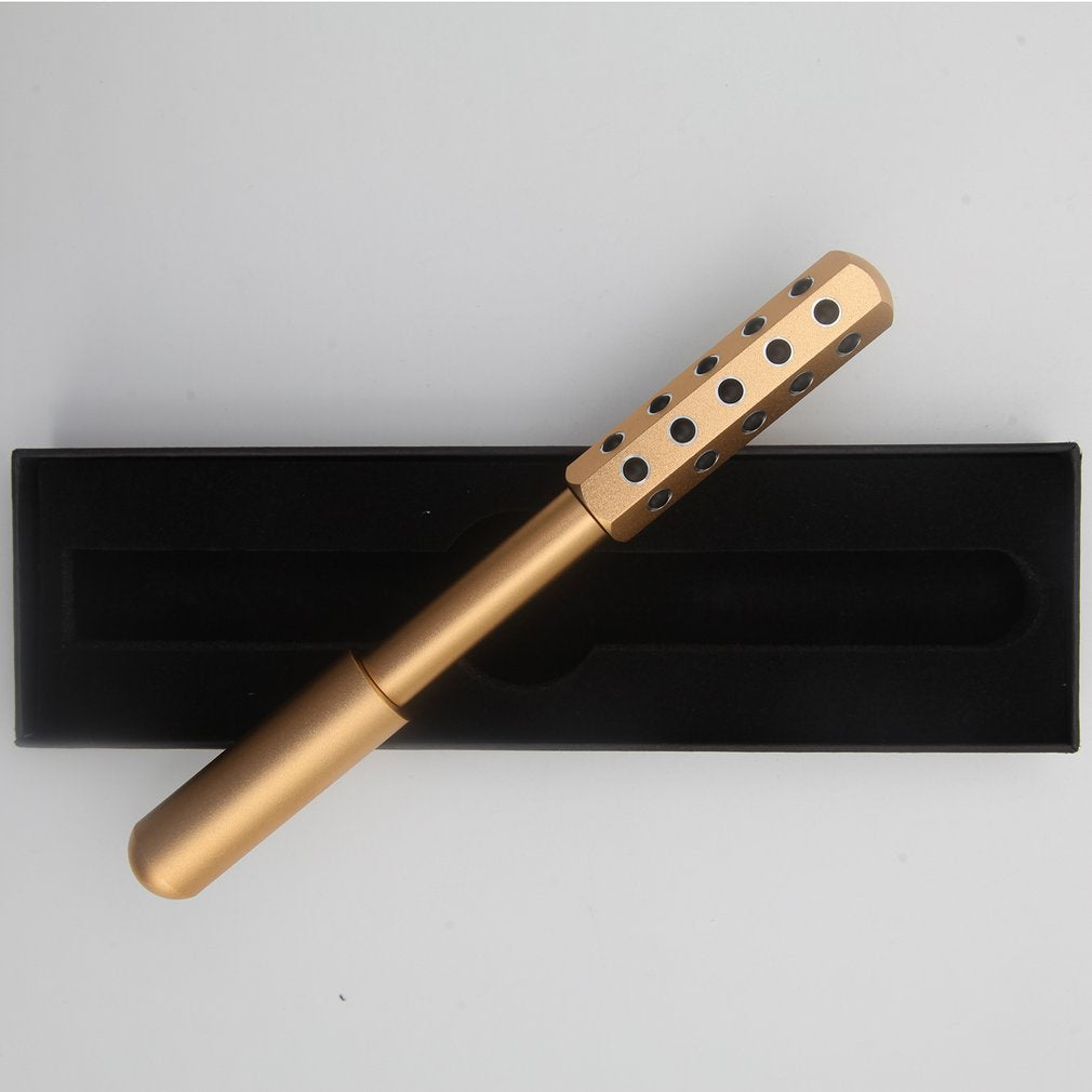 Double Heads Germanium Stones Facial Massage Roller