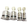 4 Size Rotating Handle Anti Cellulite Acupuncture Vacuum Cupping Cups Body Massage Cans