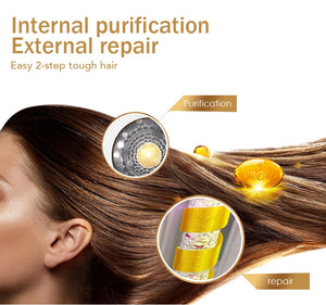 Effectively Repair Damaged Dry Hair Nourish & Restore Soft Hair Care 80g Keratin Hair Treatment Mask