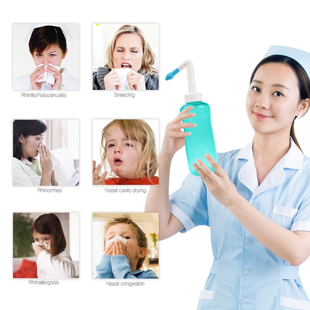 500ML Nose Cleaning Machine for Adults & Kids