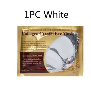 NEW 24K Gold Crystal Collagen Eye Mask for Dark Circles Removal