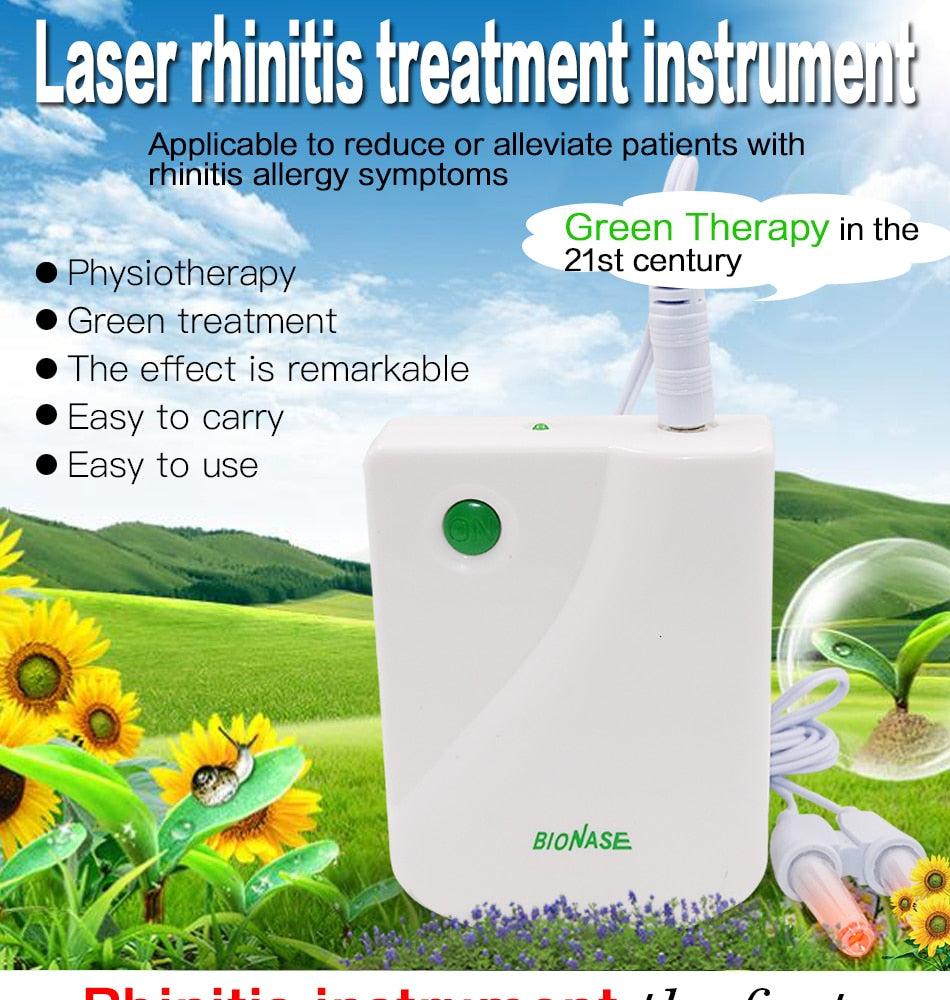 Rhinitis Sinusitis Cure Therapy Massage Nose Health Care Cleaning Machine