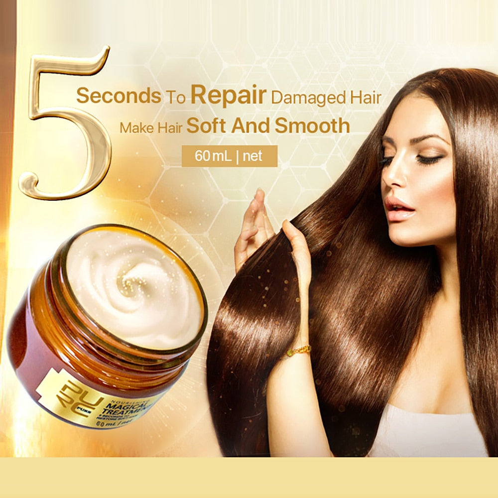 5 Seconds Repairs Damage Hair Keratin Hair & Scalp Treatment Cream