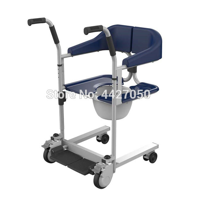 Good Quality Commode Toilet Shower Chair with Wheels