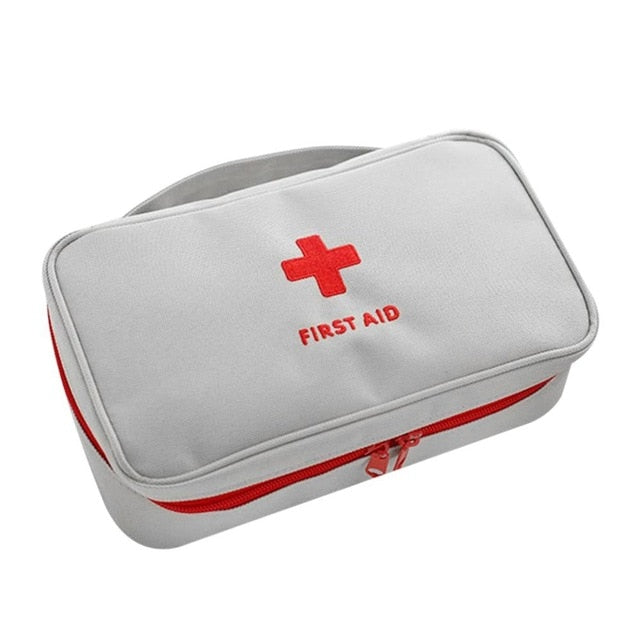 First Aid Kit Medicines Empty Survival Handbag For Outdoor Camping