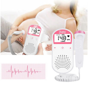 Handheld Baby Heart Rate Detector Prenatal Fetal Doppler For Pregnant Women