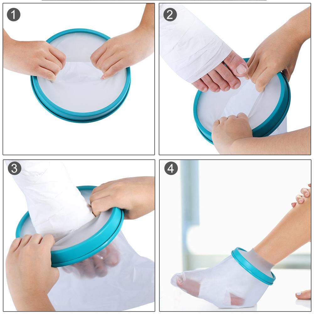 Waterproof Adults Sealed Cast Bandage Protector For Shower Bath