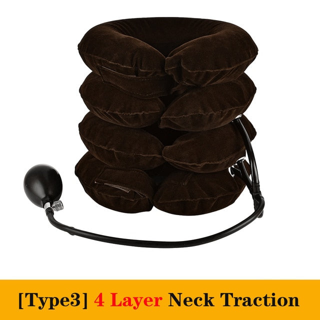 Soft Inflatable Air Cervical Posture Correction Travel Neck Tractor