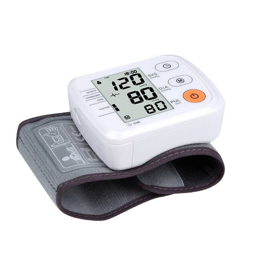 Automatic Digital Tonometer for Measuring Blood Pressure And Pulse Rate
