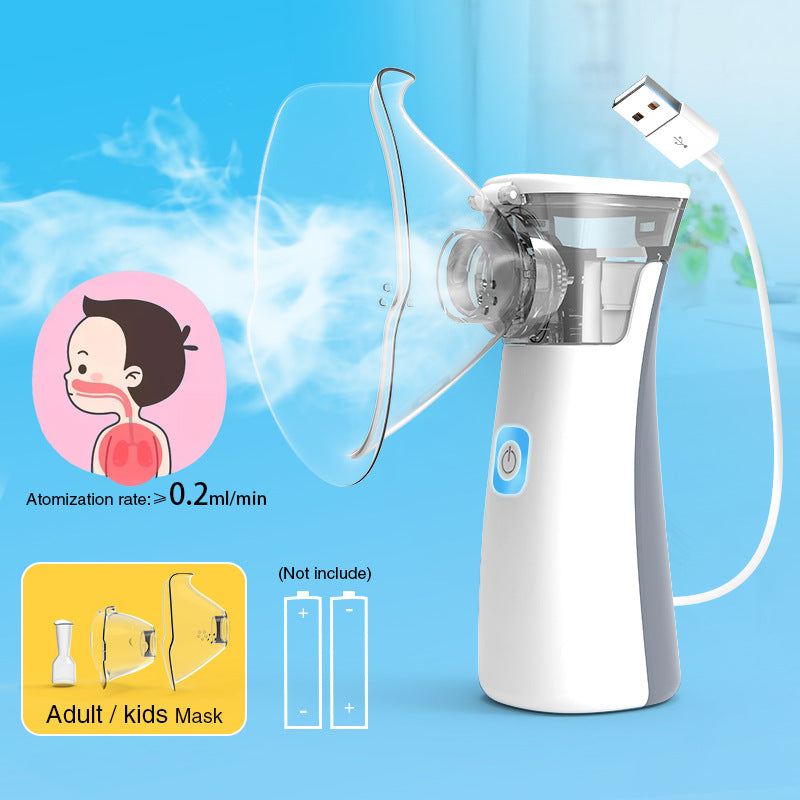 Newest Mini Handheld Medical Nebulizer Atomizer Steaming Devices for Adults & Children
