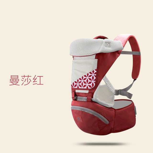 New Design Hipseat Sling Front Kangaroo Baby Wrap Carrier