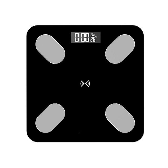 Bluetooth Body Fat Smart Electronic BMI Scales LED Digital Weight Balance Body Composition Analyzer