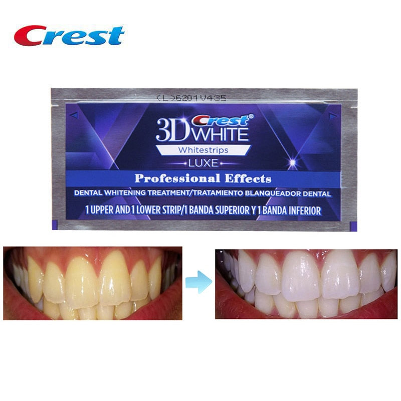 New Crest 3D White Professional Effects White-strips