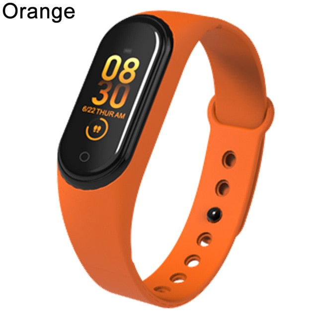 Body Temperature Blood Pressure Heart Rate Monitor Waterproof Smartwatch For Women