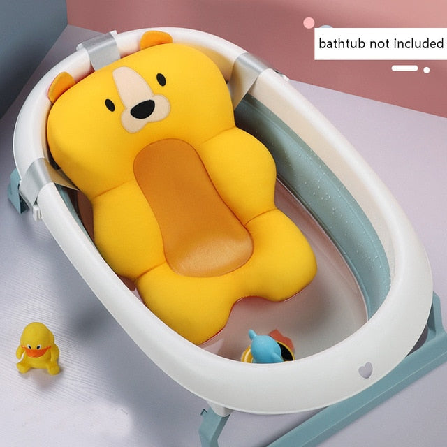 Portable Anti-Slip Floating Baby Bath Cushion Seat