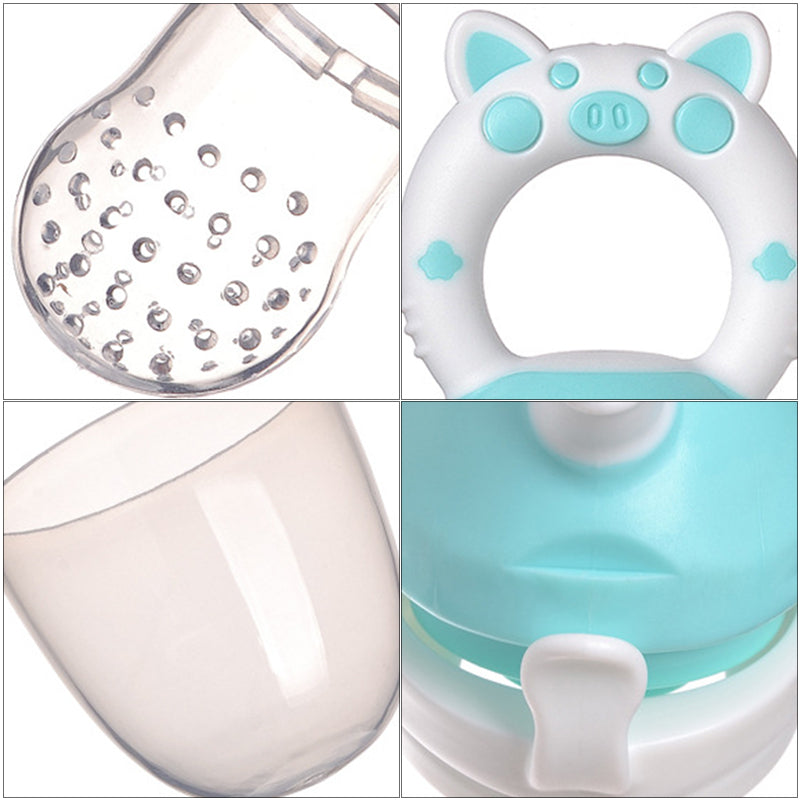 Safe Silicone Fresh Food Nibbler Baby Feeder Bottles