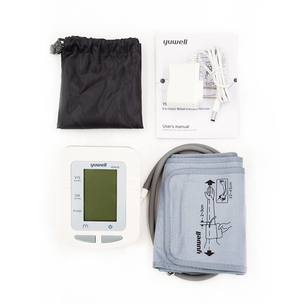 Automatic Digital LCD Display Upper Arm Blood Pressure Monitor