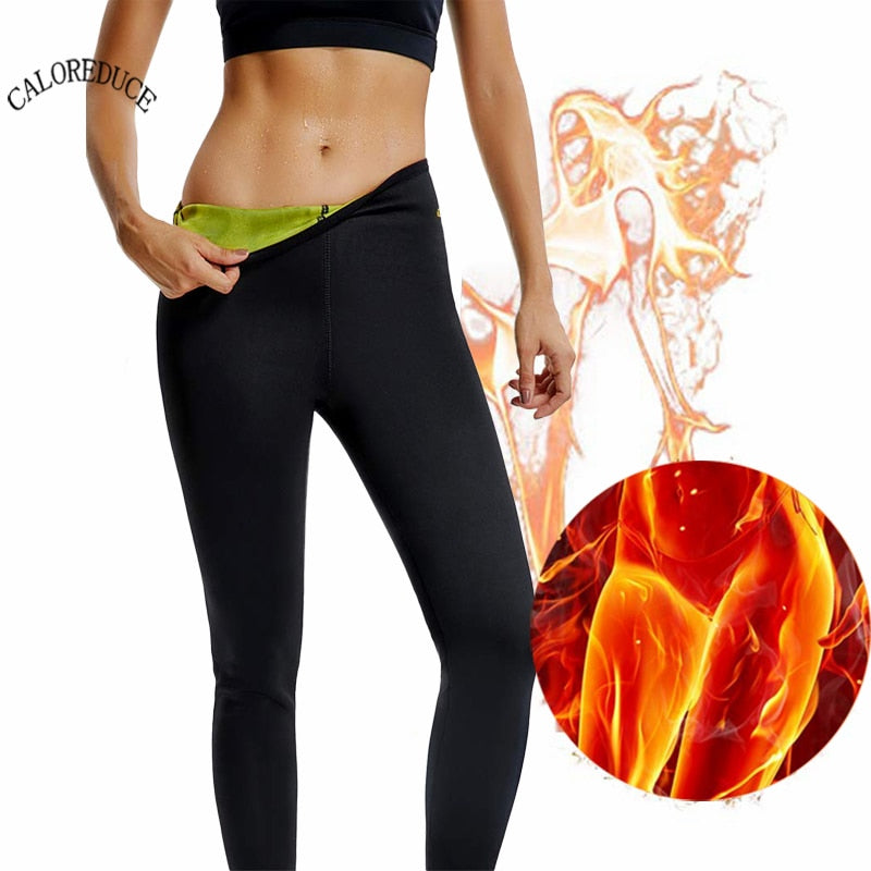 Hot Thermo Body Shaper Women's Slimming Cropped Pants for Weight Loss Fat Burning