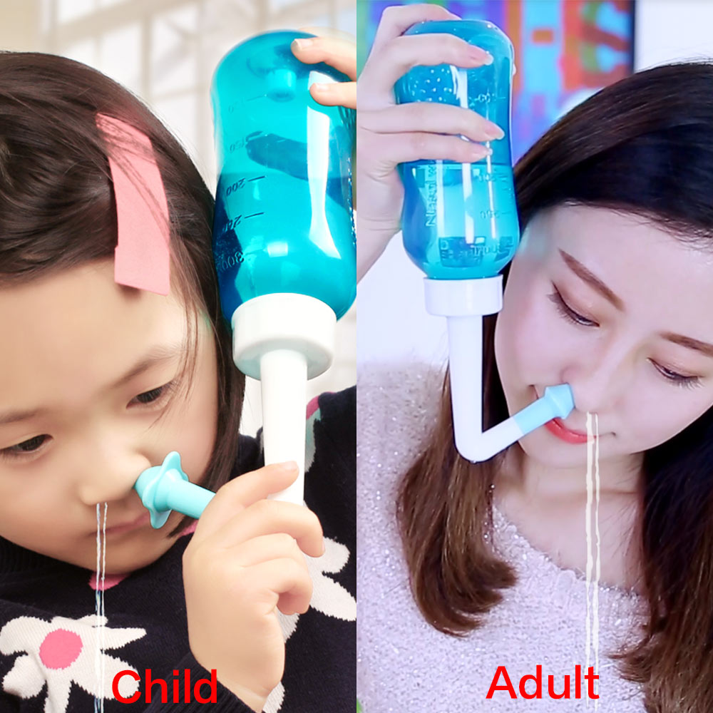 60pcs/box Medical Nasal Wash Salt Nose Cleaner For Adults & Children