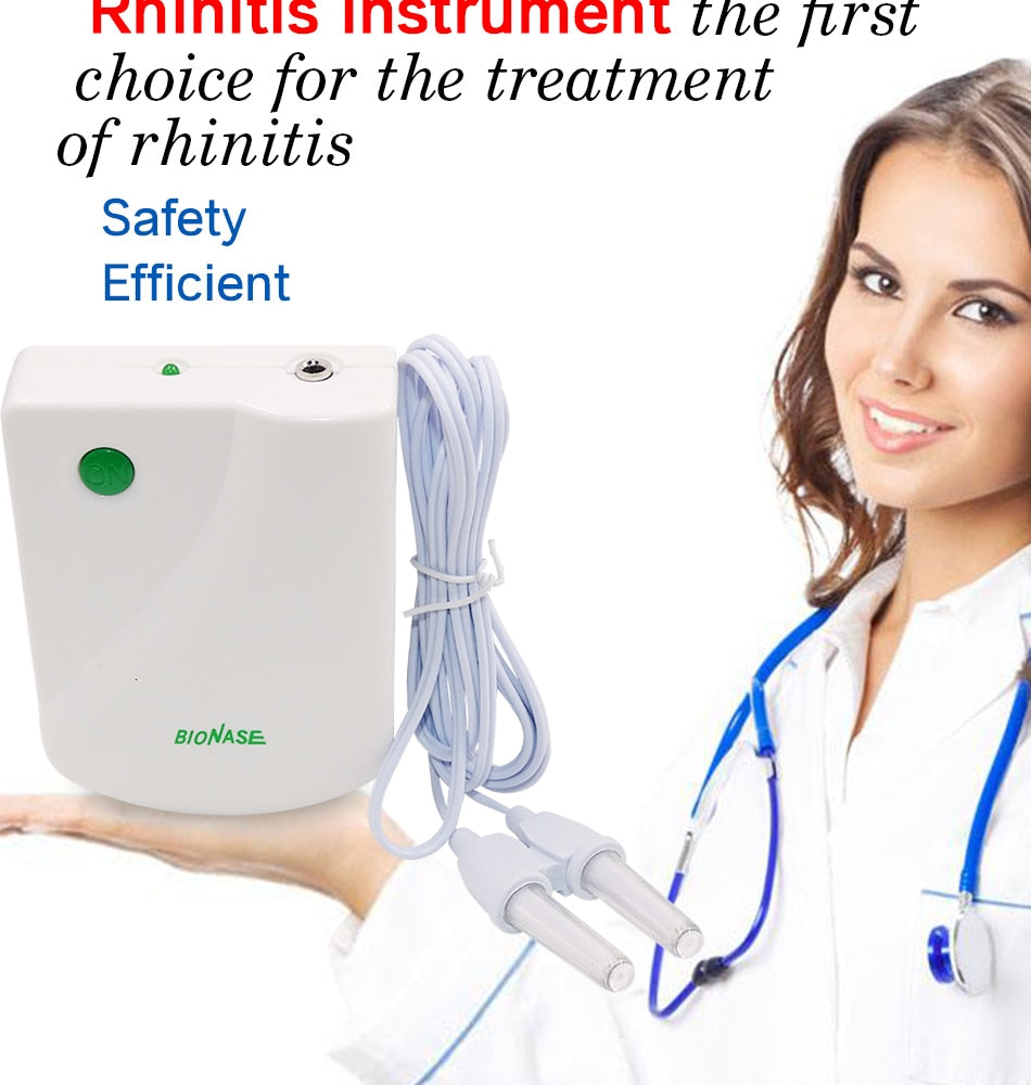 Hay Fever Low Frequency Pulse Laser Nose Health Care Cleaning Machine