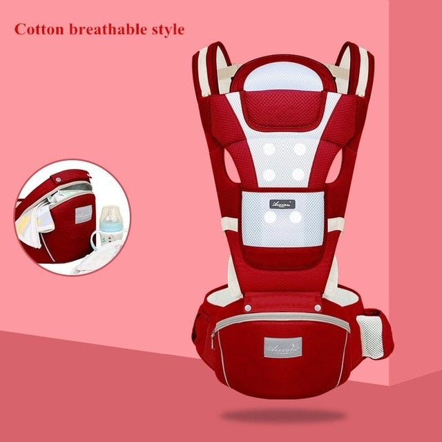 Backpack Hipseat Sling Front Facing Kangaroo New Born Baby Carrier