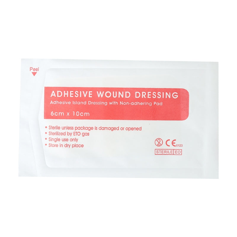 10pcs Non-woven Medical Adhesive Wound Dressing Large Band