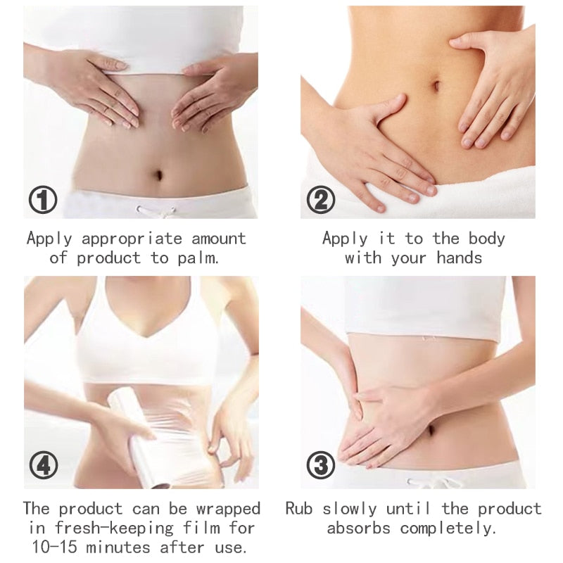 Slimming Cream for Reduce Cellulite Lose Weight Burning Fat