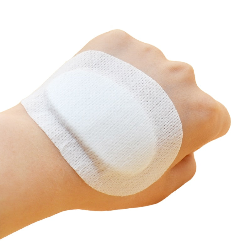 5pcs Waterproof & Breathable Cushion Adhesive Band-Aids