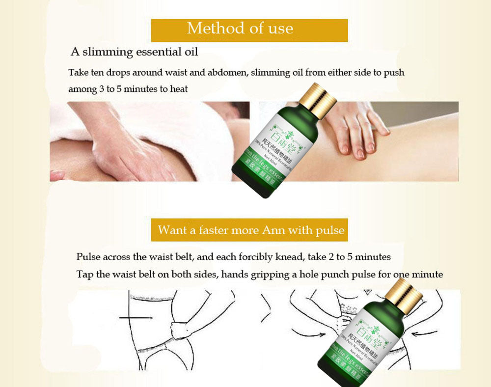 Pure Natural Essential Oil for Weight Loss