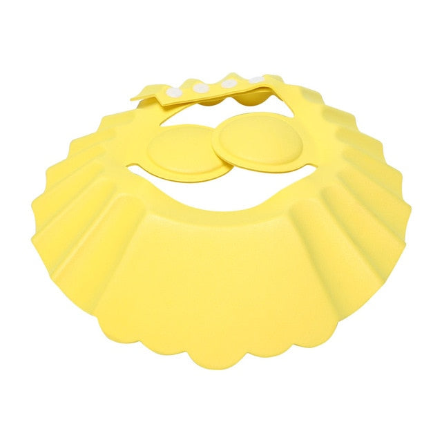Baby Shower Hair Shield Cap for Protect Eyes & Ears