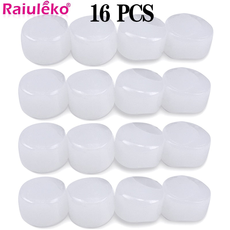 16Pcs Silicone Ear Plugs Sleep Anti-Noise Snoring Earplugs Noise Cancelling For Sleeping Noise Reduction Protect Hearing Travel