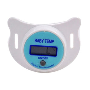 Infants Baby Digital Pacifier LCD Thermometer