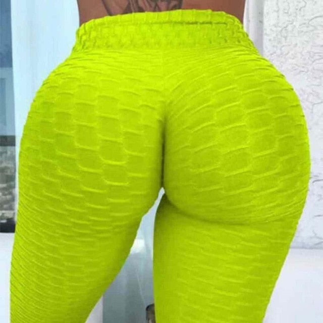 High Waist Tummy Control Slimming Booty Leggings