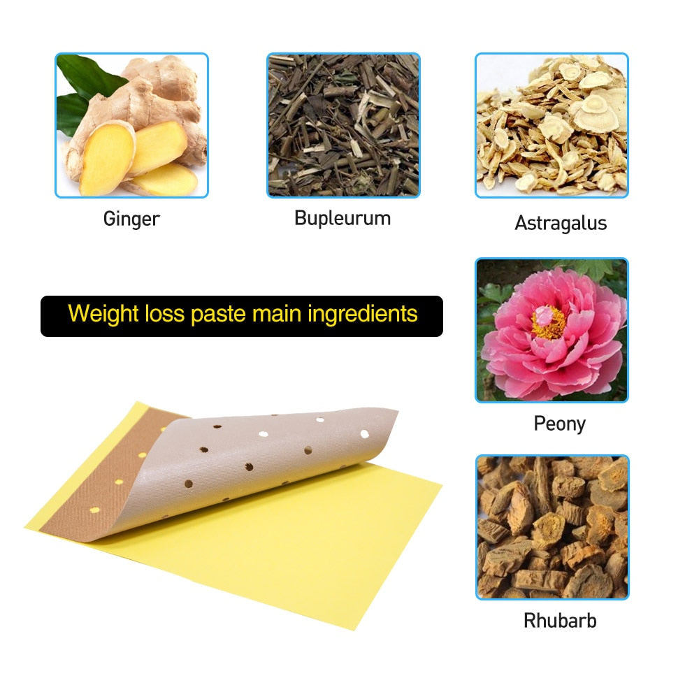 60pcs/6Bags Weight Lose Effective Slimming Patch