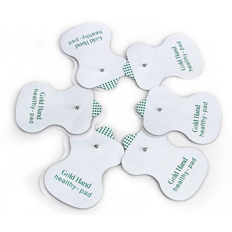 50pcs/lot White Electrode Pads for Acupuncture Digital Therapy Machine