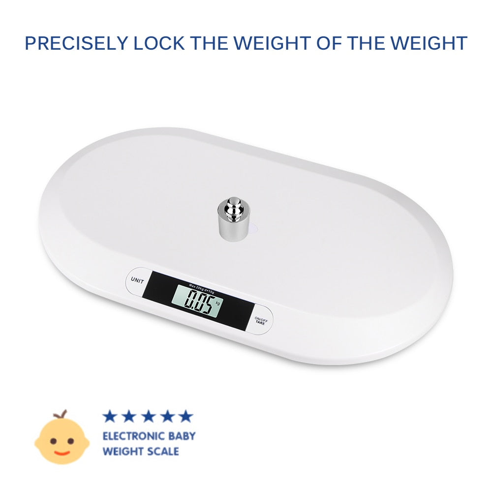 Professional Digital Newborn Baby Infant Scale with LCD Display