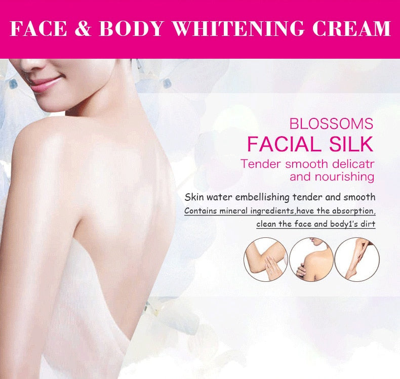 120ml Natural Whitening Moisturizing Brightening Bleaching Body Lotion for Private Parts