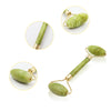 Natural Double Heads Jade Stone Facial Massage Roller Beauty Slimming Tools