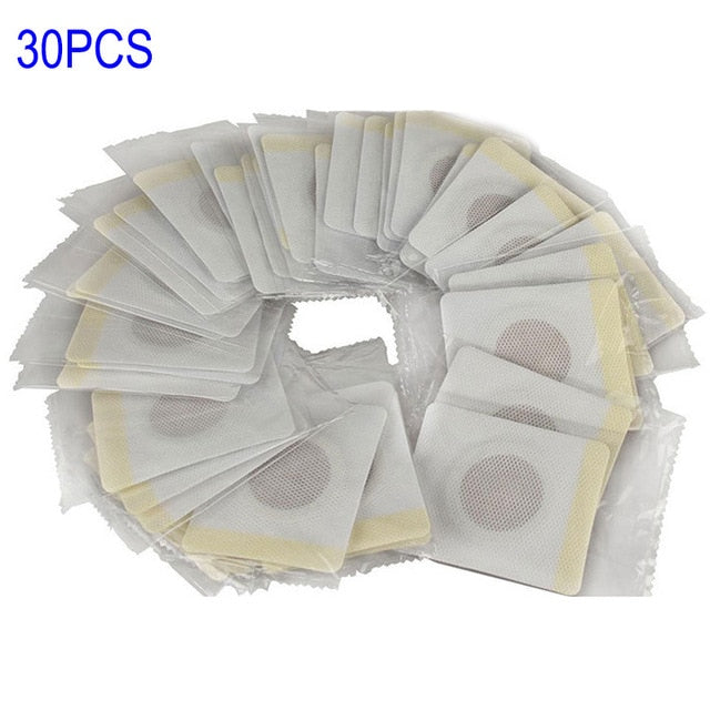 10/30 Pcs Anti Cellulite Fat Burning Navel Slim Patch