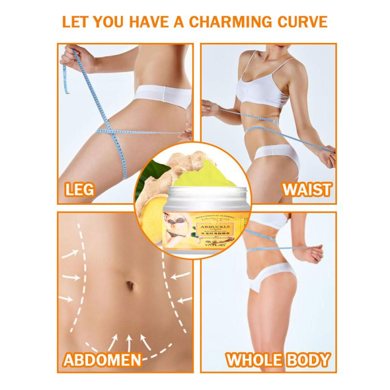 Anti-cellulite Effective Fat Burning Ginger Slimming Weight Loss Cream