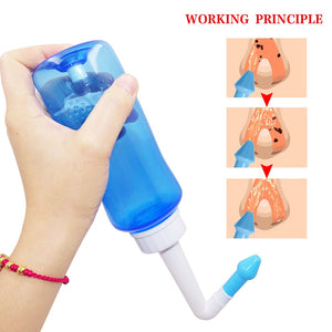 1 Set 300ML Nasal Wash Nose Cleaner for Children & Adults