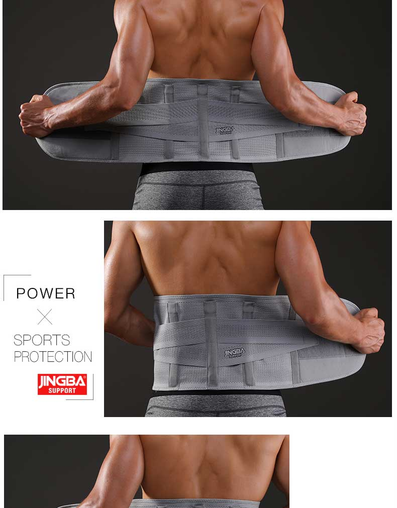 Fitness Sports Waist Back Support Sweat Belt Trainer