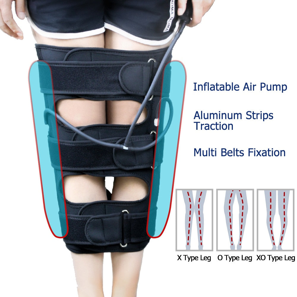 Adjustable O/X Type Legs Correction Band For Adults Kids