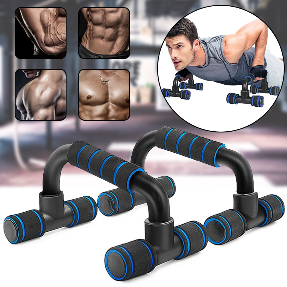 Push Up Board with Instruction Print Body Building Fitness Exercise Tools