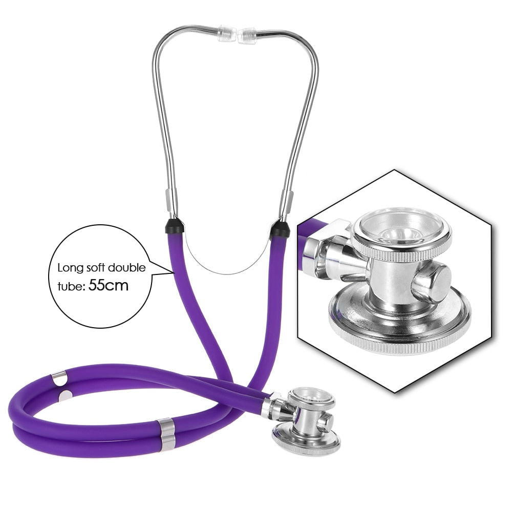 Dual Head Colorful Multifunctional Professional Medical Stethoscope
