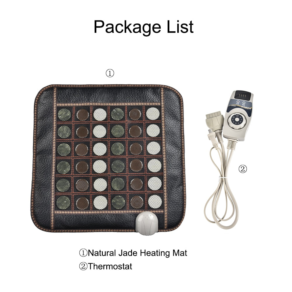 Infrared Therapy Pain Relief Jade Heating Mat Massage Tool